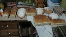 wood oven bread